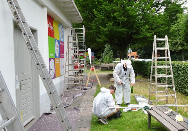 SocialDay der FreiwilligenBörseHamburg im Standort Horn