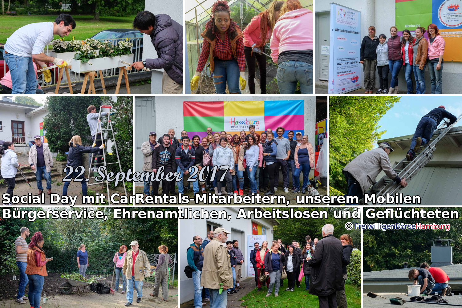 Impressionen vom Social Day am 22. September 2017